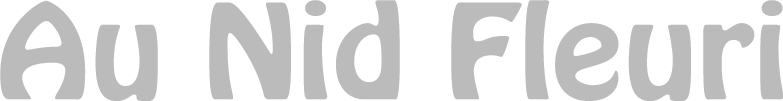 Logo Au nid Fleuri